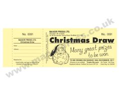 PERSONALISED DRAW TICKETS